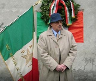 Enrico Wieser, storico esponente dell'Anpi di Milano, morto dopo un mese di lotta con il coronavirus