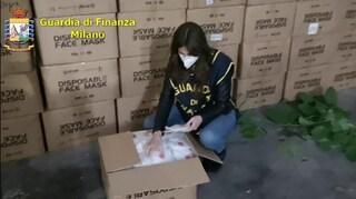 La guardia di finanza sequestra oltre 360.000 mascherine senza certificazioni