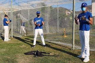 """A Codogno torna ad allenarsi la squadra di baseball: """"Si vede la luce in fondo al tunnel"""""""