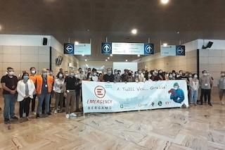 "Il team di Emergency lascia l'ospedale in Fiera e saluta Bergamo: ""Sempre pronti a darvi una mano"""
