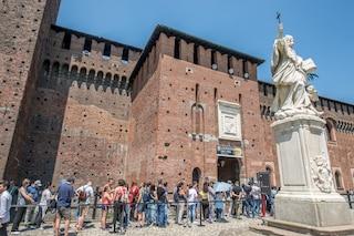 Milano, da martedì 26 maggio riaprono musei civici e biblioteche: il Castello rimane chiuso