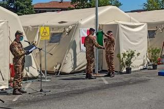 """Crema, smantellato l'ospedale da campo dell'esercito: """"Non ci sono pazienti, non serve più"""""""
