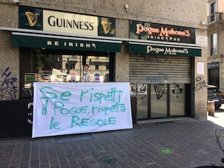 Milano, clienti non rispettano le regole: il pub Pogue Mahone's chiude per protesta