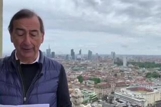 Milano, Beppe Sala sul Duomo ricorda le vittime del virus e si affida alla Madonnina