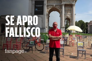 """Milano, la protesta in tenda di un ristoratore: """"Con queste regole aprire vuol dire fallire"""