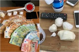 Milano, due arresti per spaccio di cocaina: sequestrati contanti e 350 grammi di droga