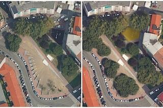 Milano, ecco la nuova piazza Schiavone: più alberi e maggior sicurezza per i bambini