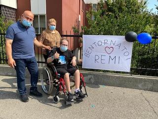 Remigio, affetto dalla sindrome di Down, ha vinto la battaglia col Covid: dopo 105 giorni è guarito