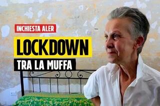 """Milano, lockdown in una casa popolare invasa dalla muffa: """"Aler non interviene, mi sto ammalando"""""""