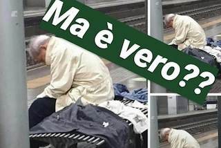 """Milano, post virale su un anziano senza casa dopo il ricovero per Covid. Maran: """"Nessun riscontro"""""""