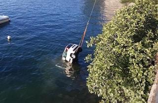 Sbaglia manovra e finisce nel lago di Como: morta una donna di 70 anni