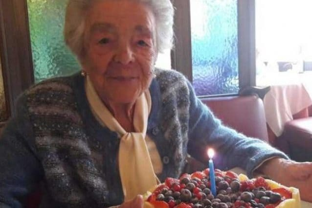 Il compleanno di Pierina: la nonna milanese festeggia i 110 anni