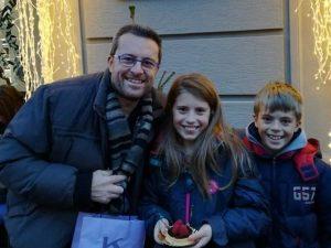 Mario Bressi con i suoi figli, Elena e Diego: li ha uccisi e si è suicidato