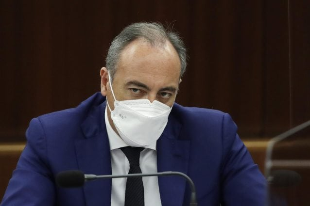 L'assessore al Welfare Giulio Gallera