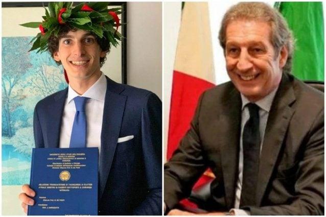 Figlio Di Roberto Stella Primo Medico Morto Di Covid Si Laurea In Medicina Dedicata A Papa