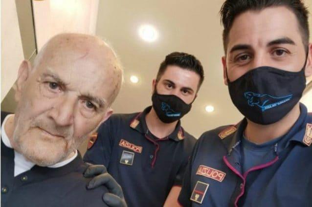 Milano, vaga per strada in pigiama in stato confusionale: nonno Giacomo aiutato dalla polizia
