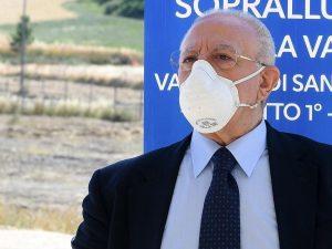 Coronavirus Campania De Luca Oggi 14 Casi Piccoli Focolai In Cilento E Litorale Domizio