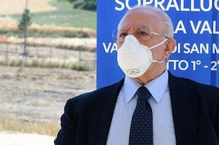 De Luca: Ondata di contagi Covid tra ottobre e novembre, potenziamo le terapie intensive in Campania