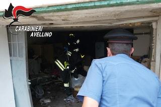 Boato nell'Avellinese: esplode un garage, si temono feriti