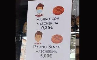 Entri nel panificio senza mascherina e pane ti costa 5 euro: idea di un negozio a Palma Campania