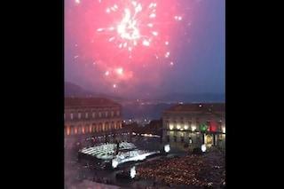 La Tosca del San Carlo in piazza del Plebiscito interrotta dai fuochi d'artificio abusivi