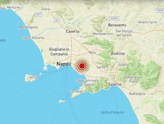 Terremoto a Ottaviano, scossa di magnitudo 2.2 nella zona del Vesuvio