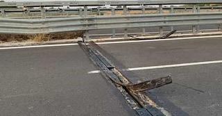 Castel Volturno, il ponte sulla Domiziana è a rischio crollo: sequestrato