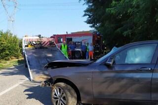 Incidente stradale a Presenzano, auto sfonda il guard rail, morto 35enne