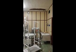 Cardarelli, crolla il soffitto in sala: paura al reparto di radiologia