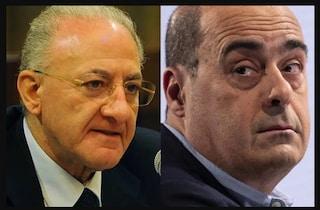De Luca mica si ferma alla Regione: vuole affondare l'accordo Pd-M5S per il sindaco di Napoli