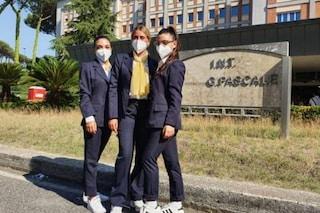 All'Ospedale Pascale arrivano le hostess agli ingressi per aiutare pazienti e visitatori