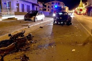 Incidente con l'auto a Mirabella Eclano, ferito un ragazzo