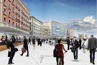 Lungomare Napoli, su via Partenope pedonalizzata resteranno due corsie di emergenza per sempre