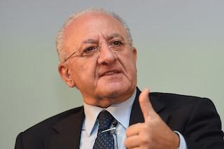 Vincenzo De Luca ha vinto le Elezioni in Campania: sfonda il 60%. Coalizione verso 32 seggi