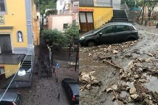 Maltempo in Campania, paura a Sarno: centro invaso da fango e detriti, famiglie evacuate