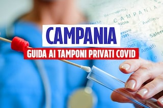 Tamponi Covid in Campania, l'elenco dei centri privati autorizzati