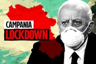 """Covid, De Luca: """"Domani ordinanza lockdown in Campania"""". Ma è isolato e deve cambiare tutto"""