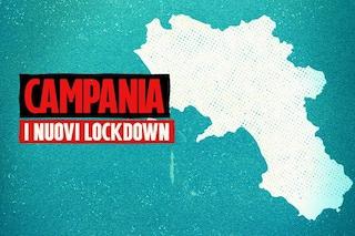 In Campania 1.127 contagi Covid. Da oggi possibili lockdown e chiusura scuole