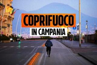 Ordinanza Coprifuoco Campania, oltre all'autocertificazione bisognerà esibire scontrini e ricevute