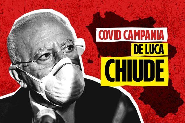 Coronavirus Campania De Luca Chiude Le Scuole Stop A Matrimoni E Feste Ecco L Ordinanza Completa