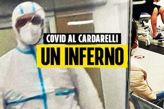"""Covid, il racconto del malato al Cardarelli: """"Positivi e negativi divisi da un paravento"""""""