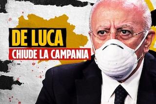 """Covid Campania, De Luca: """"Le decisioni difficili vanno prese ora o è troppo tardi"""""""