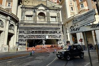 Galleria Vittoria ancora chiusa, il Comune apre un altro cantiere in via Arcoleo, l'unica strada aperta