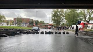 Lockdown Covid ad Arzano, commercianti e cittadini bloccano le strade