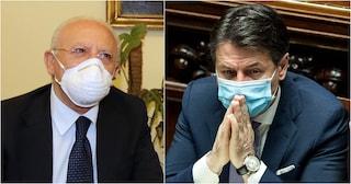 """Coronavirus, De Luca scrive a Conte: """"Ritardi gravissimi del Governo sulla Campania"""""""