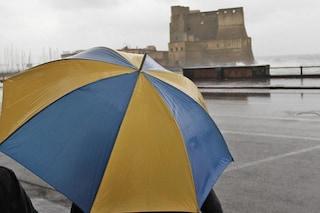 Meteo Campania, peggiora il tempo: nuovi temporali nei prossimi giorni
