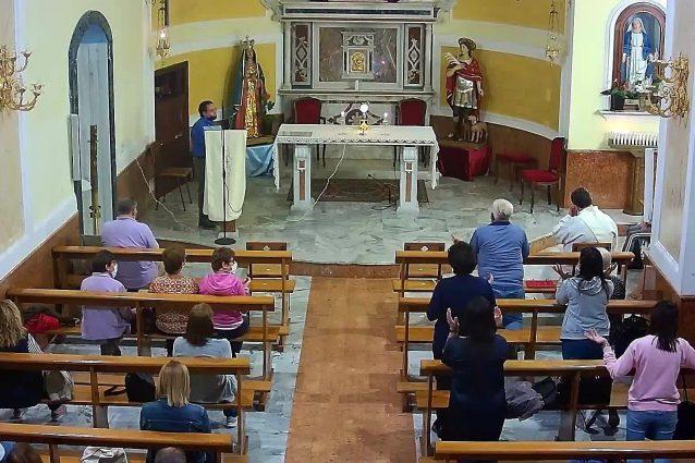 La parrocchia del Sacro Cuore di Gesù di Ercolano (da Facebook)