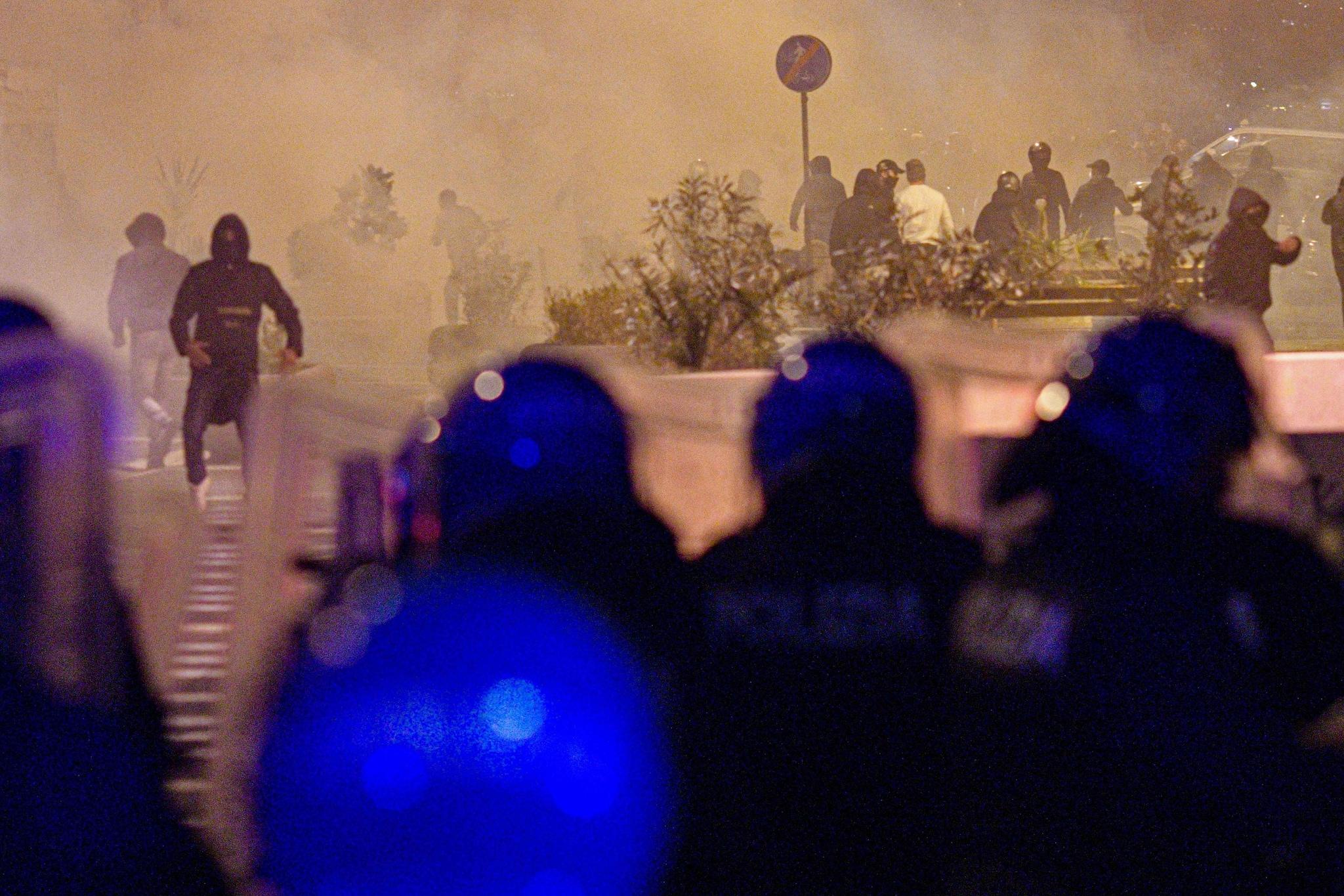 Gli scontri di Napoli dell'ottobre 2020