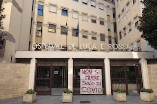 """Chiude il pronto soccorso a Vico Equense, la protesta: """"Non si muore di solo Covid"""""""