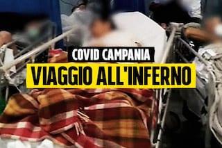 Covid-19, inferno pronto soccorso a Napoli: file di ambulanze, ossigeno finito e pazienti ammassati